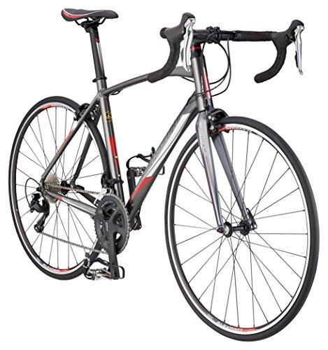 Schwinn Fastback 1 Performance Road Bike for Intermediate to Advanced Riders, Featuring 48cm/Small Aluminum Frame, Carbon Fiber Fork, Shimano 105 22-Speed Drivetrain, and 700c Wheels, Grey (S1157SM)