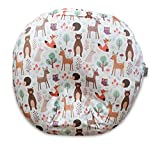 Sweet Pea Kids Newborn Lounger Minky Cover for Infant Pillow Insert Forest Animals