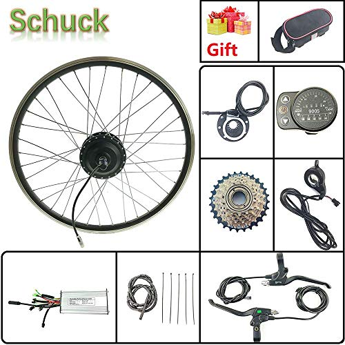 Schuck Kit de conversión de Bicicleta eléctrica Rueda Trasera de 27.5