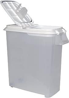 Buddeez 12-1/2-Gallon Roll-Away Pet Food Dispenser with Scoop