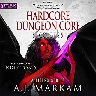 Hardcore Dungeon Core     Succubus, Book 5              Auteur(s):                                                                                                                                 A.J. Markam                               Narrateur(s):                                                                                                                                 Iggy Toma                      Durée: 10 h     2 évaluations     Au global 5,0