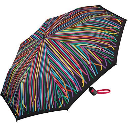 Benetton Regenschirm Taschenschirm Automatik Schirm Mini AC Special Edition Ribbons
