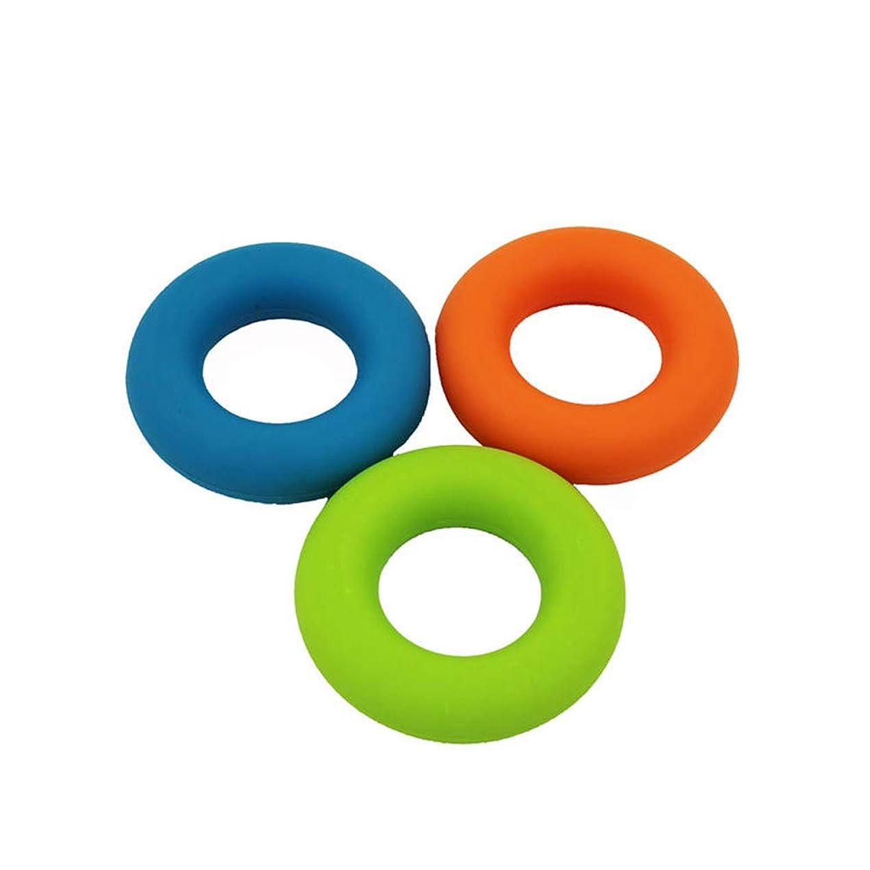 歩き回る手術オークLVESHOP オフィスストレスリリーフ、手エクササイズストレスリリーフスクイーズボールグリップリング筋肉強化(30lb?50lb)筋肉構築用(3pcs)