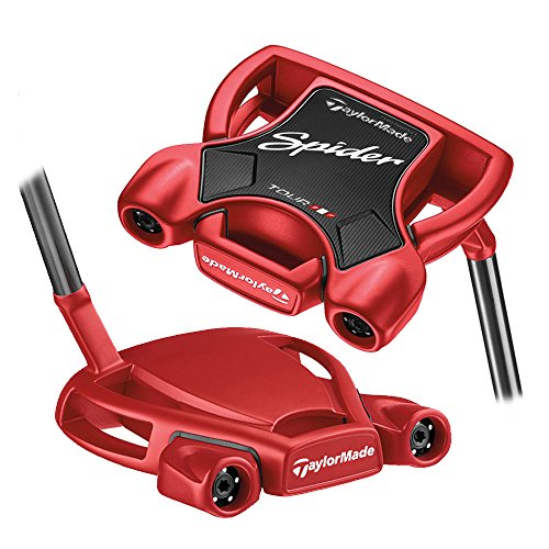 Product Image 1: TaylorMade 2018 Spider Tour Red Putter (Right Hand, 34 Inches, No Sightline)