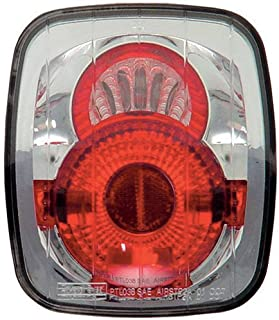 IPCW Clear Tail Lights (1 Pair) 87-06 Jeep Wrangler