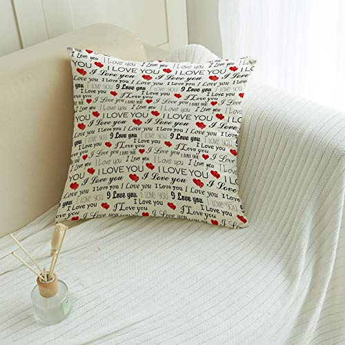MuswannaA Throw Pillow Covers Happy…