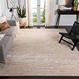 Safavieh Vision Collection VSN606F Modern Ombre Tonal Chic Non-Shedding Stain Resistant Living Room Bedroom Area Rug, 8' x 10', Cream