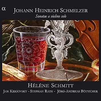 Schmelzer: Sonatae a violino solo
