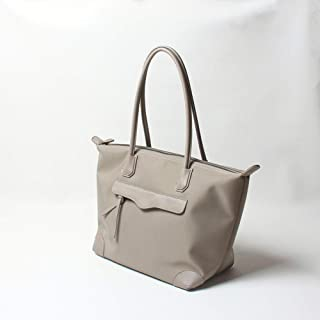 Fashion Dumplings Parachute Nylon/Oxford Cloth Briefcase Large Capacity/Large Bag/Handbag/Tote Bag (Color : Gray)