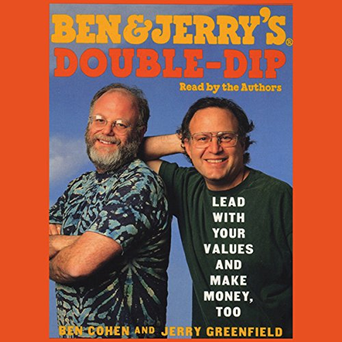 Ben & Jerry's Double-Dip Capitalism audiobook cover art