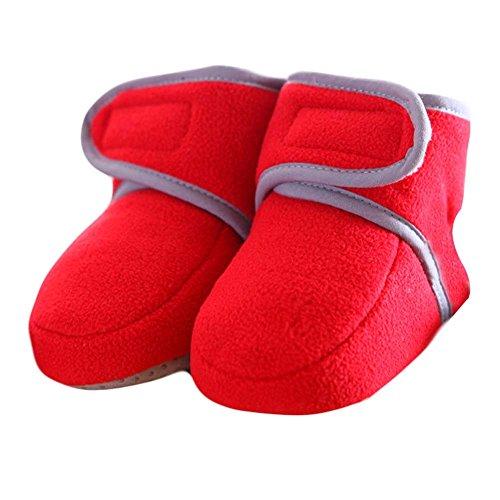 Chaussures Toddler Petits Chaussures épais hiver chaud bébé Chaussures Crib Shoes Infant