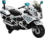 Moto Eléctrica de la Guardia Civil para Niños - Batería 12V