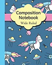 Composition Notebook Wide Rule: Wide Ruled Paper Notebook Journal | Nifty Wide Blank Lined Workbook for Teens Kids Student...