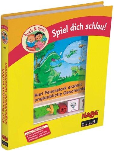 4603 - HABA - Spiel dich schlau ! Buch & Spiel Karl Feuerstark erzählt unglaubliche Geschichten