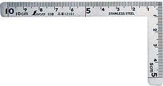 シンワ測定(Shinwa Sokutei) 曲尺小型 三寸法師ステン10×5cm 表裏同目 12101
