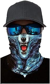 MITCOWBOYS Animal Print Bandanas, Outdoor Bandanas Sun Protection Headband Windproof Face Neck Covering