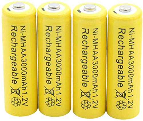Rechargeable Battery 1.2V 3000Mah Aa Ni-MhBattery Rechargeable Nimh Batteries for Torch Flashlight Car Razor Mp3 Mp4 Air Model 12Pcs-4Pcs