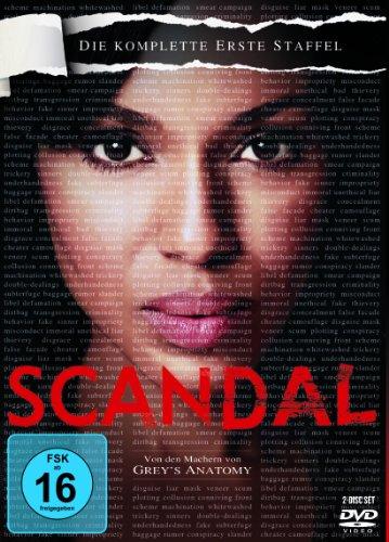 Scandal - Die komplette erste Staffel [2 DVDs]