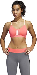 adidas Women's All Me 3-Stripes Mesh Bra