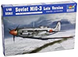 Trumpeter 1/48 MiG3 Late Version Soviet Fighter Model Kit