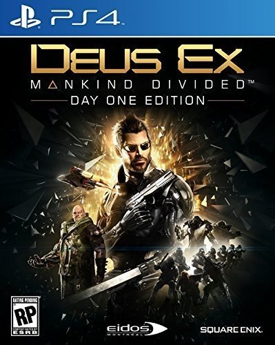 Deus Ex: Mankind Divided - PlayStation 4(Versione USA, importato)