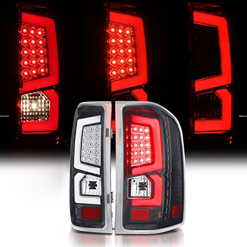 Black Rxmotor Ford F150 F-150 Third Brake Lights Led 3rd Brake Light with Rear Reverse Lamps for 2009-2014