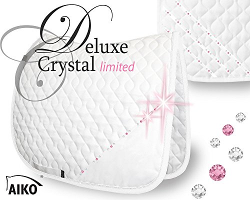 AIKO Schabracke Deluxe Crystal - limited, weiss-rose, WB-DR