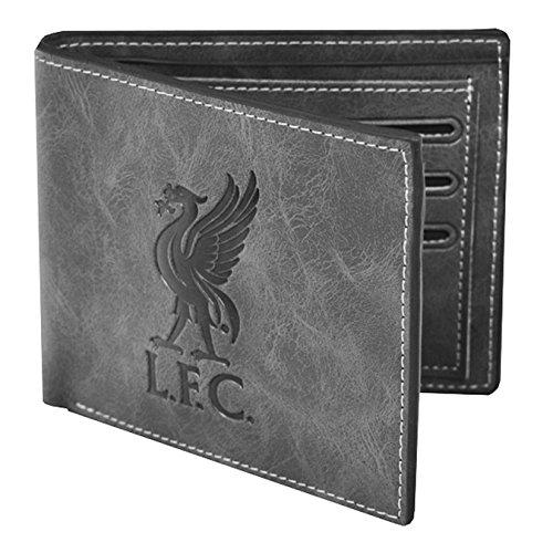 Liverpool Portefeuille en imitation daim gris Gris taille unique