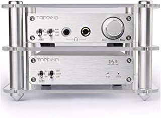 Topping D30 DAC Decoder and Topping A30 Headphone Amplifier Amplifiers with The Acrylic Shelf