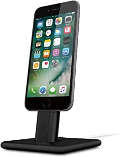 Twelve South HiRise 2 for iPhone/iPad | Adjustable Charging Stand, Requires Apple Lightning Cable (not Included), Black