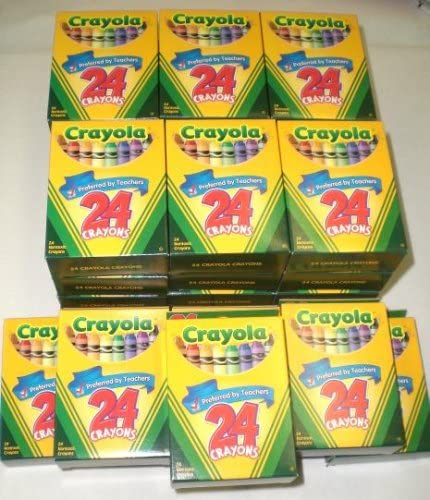 960 Denver ! Super beauty product restock quality top! Mall Crayola Crayons 40 New Boxes crayons 24 ct. of