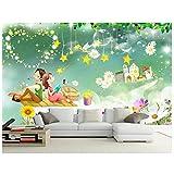 Romantische paare die sterne wandbilder-3d wallpaper benutzerdefiniertes wandbild vlies 3d raum tapete malerei fototapete für wände 3d 280 cm B x 230 cm H