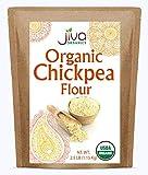 Jiva Organics Organic Chickpea Flour (Kabuli Chana flour) 2.5 LB Bag