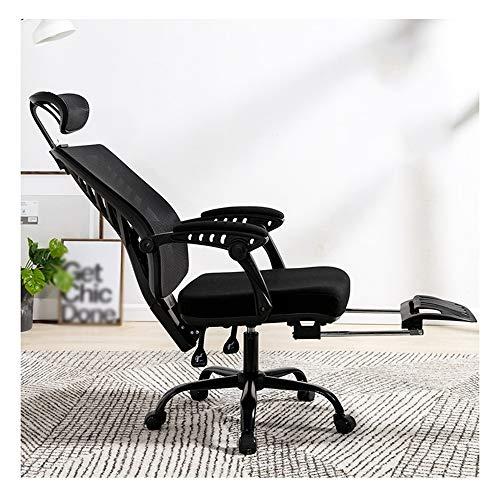 Genneric Silla de malla de alta a Oficina giratorio 145 ° reclinable Presidente Ejecutivo de...