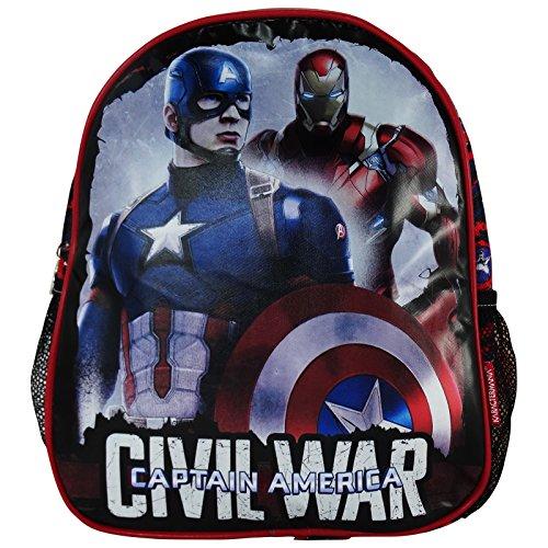 Marvel Captain America Civil War Sàc à Dos pour l'école pre- Scolaire Cartable Ecole Maternelle