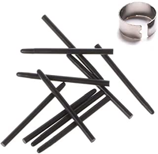 10 pcs Black Standard Pen Nibs Fits for WACOM CTL-490, CTL-690, CTH-490, CTH-690 w/Removal Ring