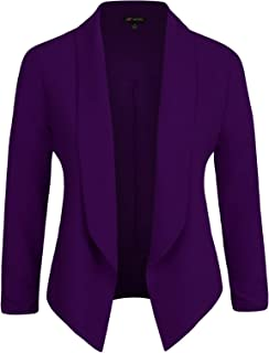 Michel Womens Casual Blazer Work Office Lightweight...