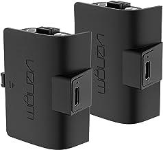 Venom Xbox Controller oplaadbare batterij Twin Pack (Xbox Series X, Xbox Series S), zwart