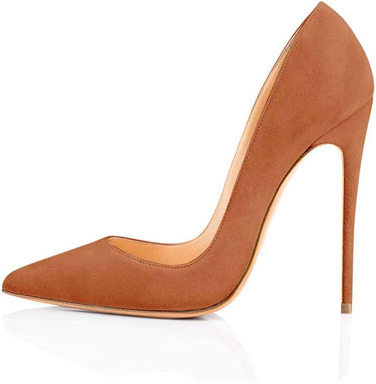 Lin-House Women shoes Thin High Heel Stilettos Pointed Toe Patent Leather shoes,H161223,15