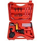 Solimeta Brake Bleeder Kit Hand Held Vacuum Pump Test Set for Automotive, Brake and Clutch Bleeding System