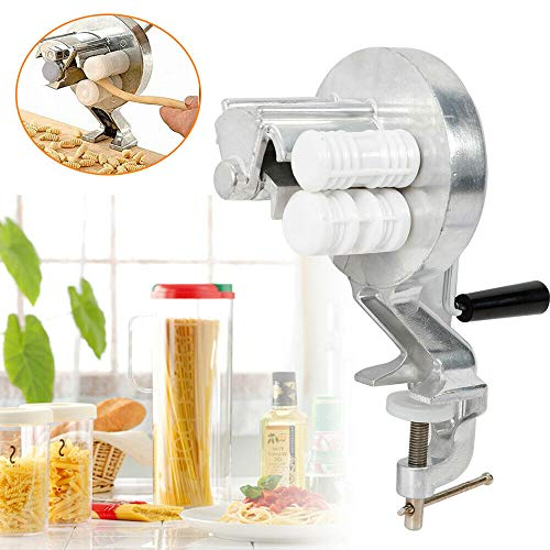 Máquina de hacer pasta manual de aleación de aluminio, máquina de espaguetis