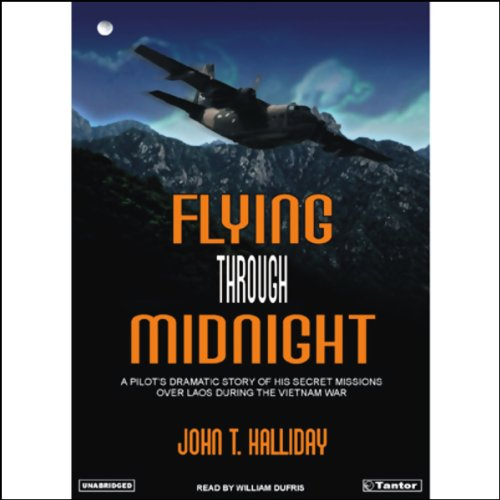 Flying Through Midnight audiobook cover art