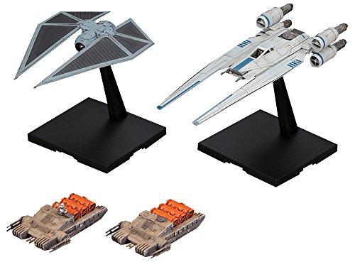 Bandai BAN212184 - Star Wars U-Wing Fighter & TIE-Striker 1/144 Plastic model kit
