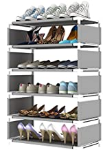 ELECTROPRIME Shoe Rack Multi-Layer Simple Household Economic Dormitory Storage Device Dust-Proof Space Saving Cabinet Small