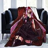HAJK Anime Future-Diary Cosplay Mirai Nikki Yun Merch Ultra-Soft Micro Fleece Blanket£¨50'' X40£¬60 X50£¬80 X60£