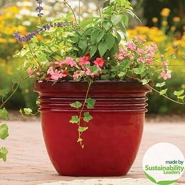 20  Large Red Indoor/outdoor Decorative Flower Planter