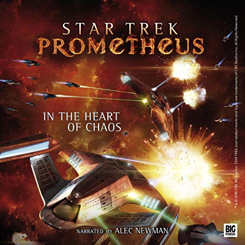 Couverture de Star Trek Prometheus - In the Heart of Chaos