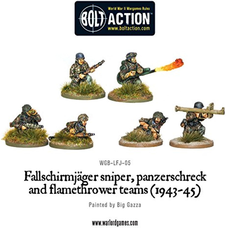 194345 Sniper & Flamethrower Team Miniatures