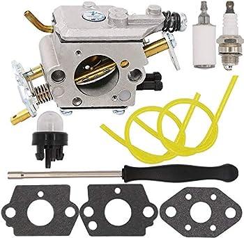 Yooppa 573952201 Carburetor for Poulan Pro PP5020AV PP5020 PP5020AVX Carburetor 2 Stroke PP4818A Gas Chainsaw 573952201 573 95 22-01 Craftsman 358.350980 358.350981 358.350982 Zama C1M-W47 Carburetor