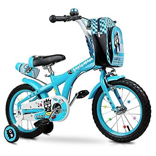 Why Choose HWZQHJY Kids Bike for 2-6 Year Old, Bike with Training Wheels, Easy Assembly Kids Bicycle...